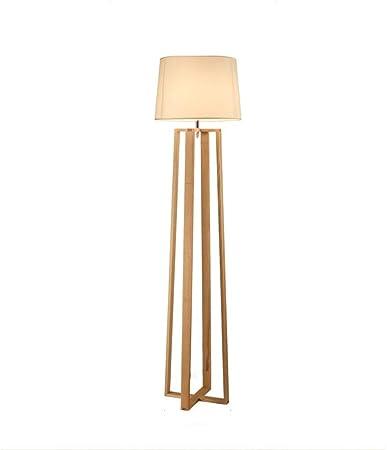 Lámpara de suelo For la lectura Lámparas de pie - siempre arriba Muebles Iluminación de madera Cuatro