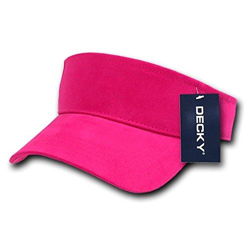 DECKY Sports Visor, Hot Pink