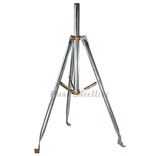 Satellite Tripod for Directv or Dish Network 2'' & 1 5/8'' OD Satellite Mount work on FTA as well by SatPro.tv (Image #1)