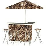 Best of Times Patio Bar and Tailgating Center, Deluxe Package, Camouflage