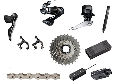 SHIMANO Dura-Ace 9150 Di2 11-Piece Groupset Without Crankset (Shimano Dura Ace Groupset)