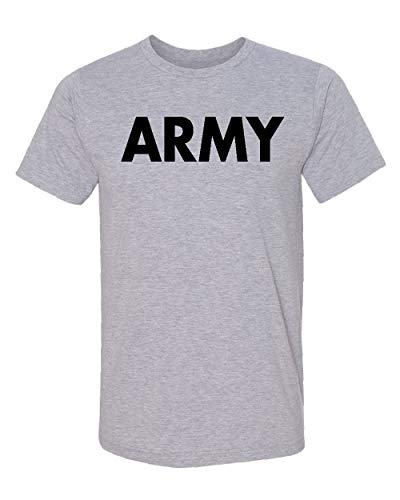 - Promotion & Beyond US Military Gear Army Training PT Men's T-Shirt, XL, H. Grey