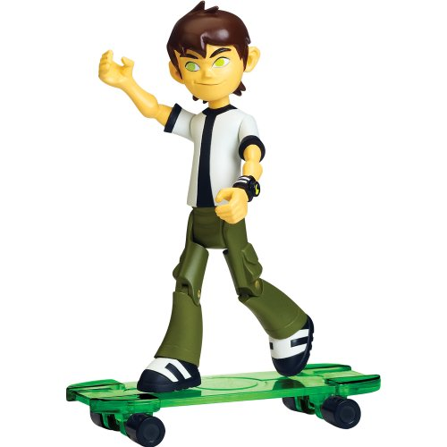 Ben 10 Omniverse 10cm Alien Collection Figure New Ben With Skateboard (11 Years)