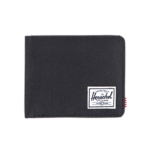 herschel-supply-co-mens-roy-wallet-black-black-poly-one-size