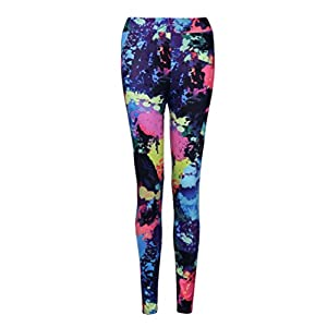 2018 Womens Yoga Pants Workout Gym Sports Running Leggings Fitness Stretch Trousers by TOPUNDER