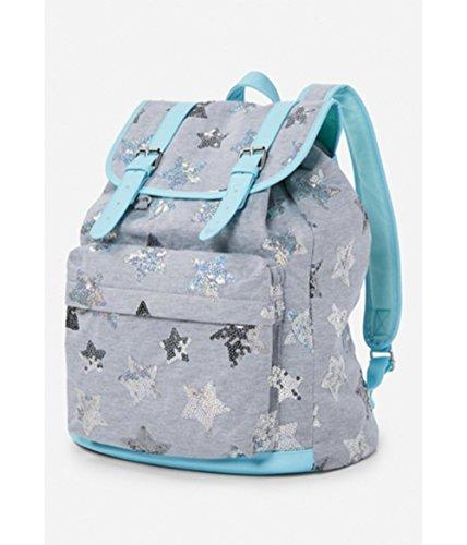 Justice star sequins rucksack Backpack - Rucksack Justice