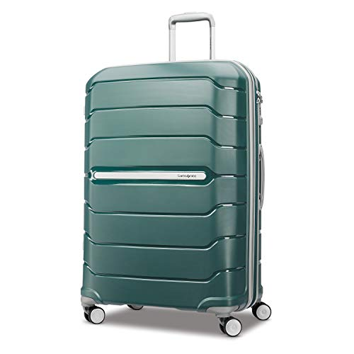 Samsonite Checked-Large, Sage Green (Best Hardside Luggage Reviews)