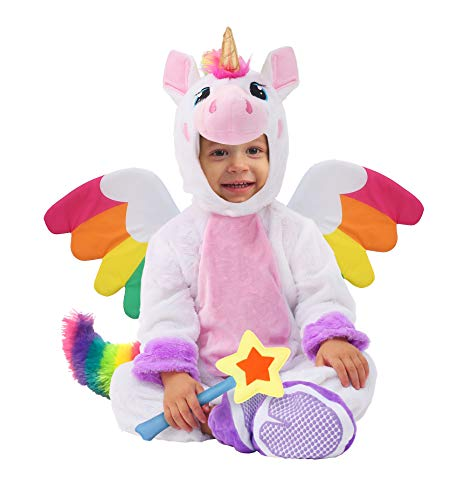 Unicorn Costume (12-18 Months) White
