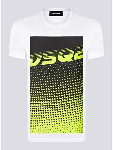 DSquared | Camiseta Manga Corta - 100% Algodón - Todas Las Temporadas Temporada 2020 - Hombre | |: Amazon.es: Ropa y accesorios