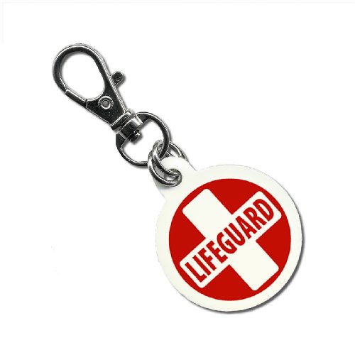 lifeguard-cross-red-white-swimming-pool-ocean-125-inch-aluminum-core-dog-tag-1-sided