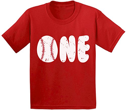 - Awkward Styles Baseball Birthday Toddler T Shirts Infant T Shirts First Birthday Party Baby Red 18M