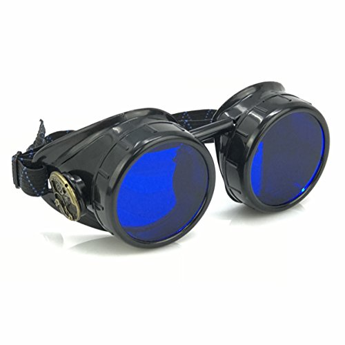 Steampunk Victorian Goggles welding Glasses diesel (Steampunk Acrylic)