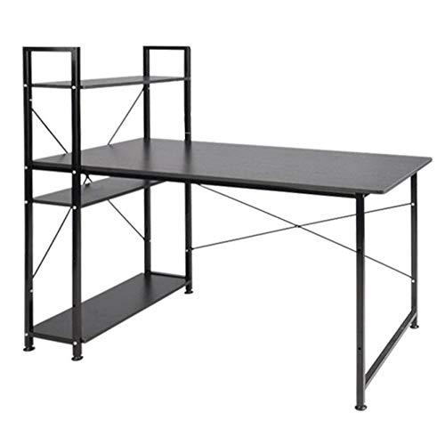 Amazon.com: QERNTPEY-Desks Computer Desk Wooden Home Office ...