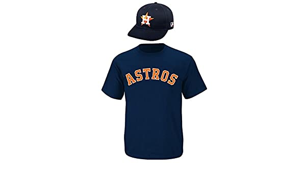 0db3d0a1d Amazon.com   Houston Astros CAP   YOUTH SMALL JERSEY MLB Licensed Replica  Combo Set   Sports Fan Jerseys   Sports   Outdoors