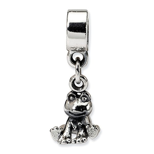 (ICE CARATS 925 Sterling Silver Charm For Bracelet Kids Frog Dangle Bead Kid Line Fine Jewelry Ideal Gifts For Women Gift Set From Heart)