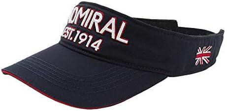 (애드 미 럴 골프) Admiral GOLF 트윌 사인 챙 ADMB821F 네이 비: 30 / (Admiral Golf) ADMIRAL GOLF Twill Sign Visor ADMB821F Navy:30