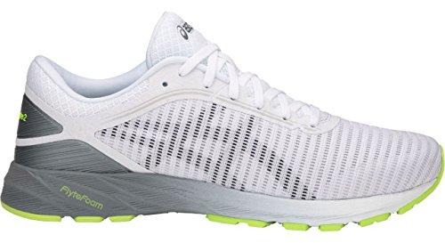 ASICS T7D0N Men's Dynaflyte Running Shoe, White/Black/Stone Grey - 9.5 (Asics Running Shoes For Men)