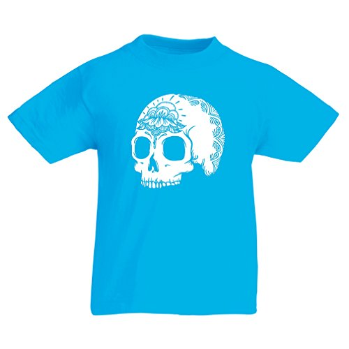 T Shirts For Kids The Fashion Skull (14-15 Years Light Blue Multi - Walgreens Gift Certificates