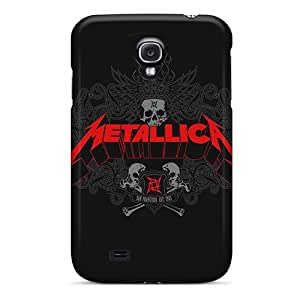 (Ilm14104XkqQ)durable Protection Cases Covers For Galaxy S4(metallica)