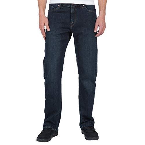 Jeans Dc Leg Straight - Volcom Men's Kinkade Jean, Vintage Blue, 38X33