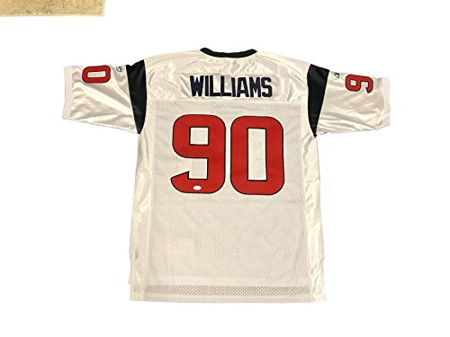 Mario Williams Signed Jersey - Away White - JSA Certified - Autographed NFL Jerseys (Jersey Mario Williams)