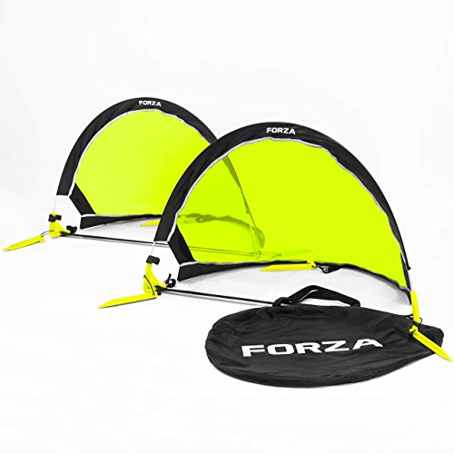 Forza Flash Pop Up Soccer Goal – Ultimate PRO Portable Soccer Nets With Carry Bag – Available In 2.5ft, 4ft & 6ft – [Net World Sports] – DiZiSports Store