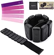 PAHTTO Ankle Weights, Wrist Weights, Weights for Women and Men, Bangles Weights for Yoga, Dance, Barre, Pilate