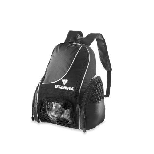 Vizari Solano Soccer Backpack (Black)