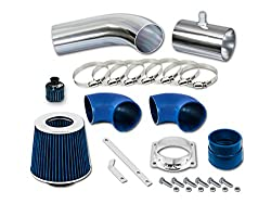 R&L Racing Short Ram Air Intake Kit + Filter 96-02 Mercury Grand Marquis All Model with 4.6L V8 from R&L Racing