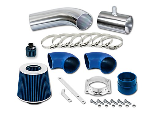R&L Racing Blue Short Ram Air Intake Kit + Filter 96-02 Mercury Grand Marquis All Model with 4.6L V8