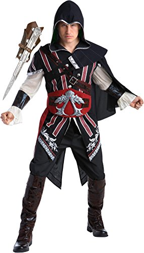 Ezio Auditore Costume (Assassin's Creed II Ezio Auditore Deluxe Men's Costume Bundle X-Large 50)