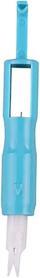 Blau Kunststoff N/ähzubeh/ör Coversolate Nadeleinf/ädler N/ähmaschinenteile Accessoires Einf/ädelhilfe f/ür N/ähmaschine