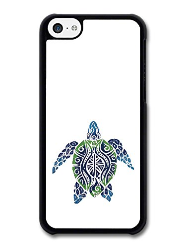 New Surf Turtle Design Reef Ocean Blue and Green coque pour iPhone 5C