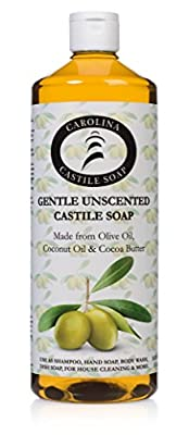 Gentle Unscented Castile Soap by Carolina Castile Soap