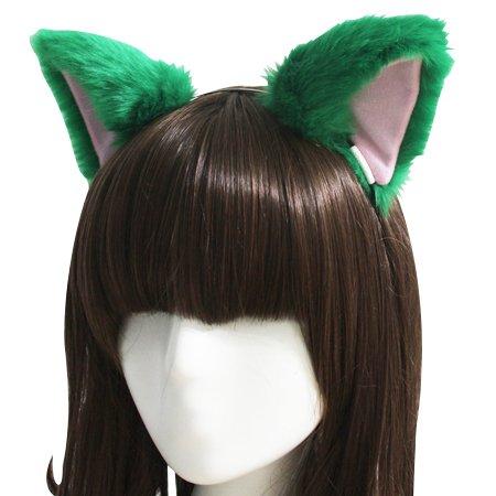springcos Lolita Fox Ears Fur Cat Ears Headband Cosplay P...