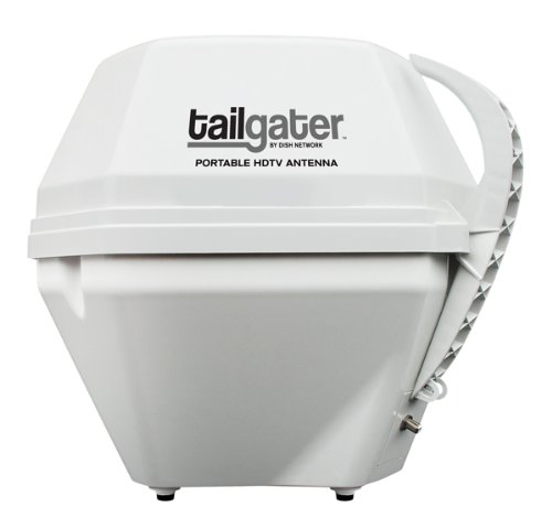 KING VQ2500 Tailgater Portable Satellite TV Antenna (for use with DISH) (Discontinued by Manufacturer) by KING