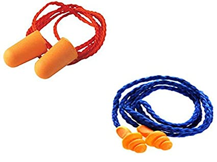 3M 1110 Disposable Foam Ear plug (Pack of 20) AND 1270 Reusable Corded  Earplug (Pack of 20): Amazon.in: Industrial & Scientific