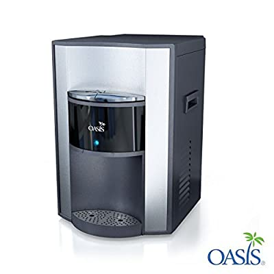 Oasis Onxy Series Stainless Steel Hot and Cold Countertop Bottleless Water Cooler