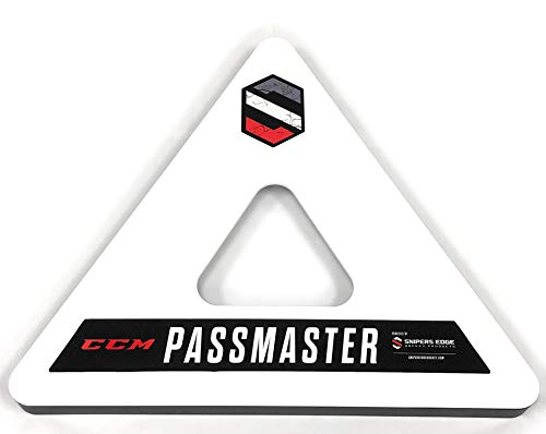 Snipers Edge PassMaster - Master The One-Time and Become A Better Hockey Passer With Quicker & Softer Hands - Heavy Duty Design Measured at 26