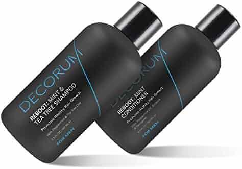 Decorum Reboot Mint & Tea Tree Shampoo & Conditioner Combo Pack, 17 Ounce