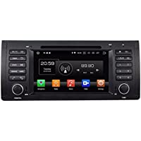 Glyqxa Android 8.0 Octa Core 1 din 7 Car Audio DVD GPS for BMW M5 E39 X 5 E53 With 4GB RAM Radio Bluetooth 4G WIFI TV USB 32GB ROM