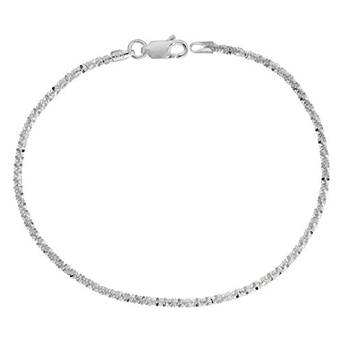 Decadence Unisex Sterling Silver 2.30mm 24