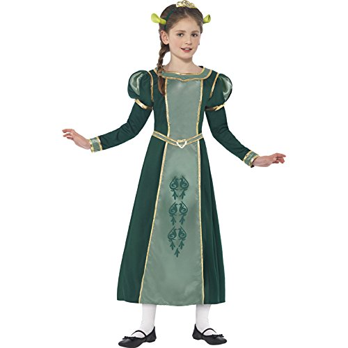 Shrek Princess Fiona Costume - Large Age 10-12 (Princess Fiona Dress)