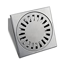 DDY Bathroom square floor drain outdoor balcony for large flow of stainless steel floor drain large displacement filter