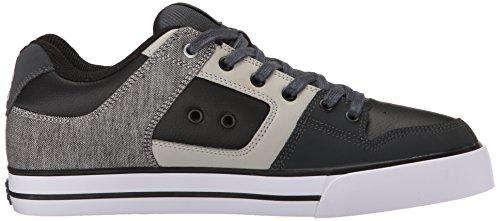 Dc Shoes Pure Se Schoen D0301024, Herren Sneaker, Weiss, Grijs / Zwart / Grijs