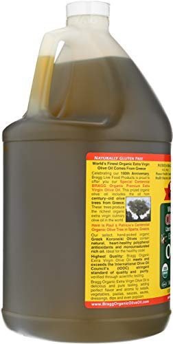 Bragg Organic Extra Virgin Olive Oil, 128 Ounce by Bragg (Image #3)