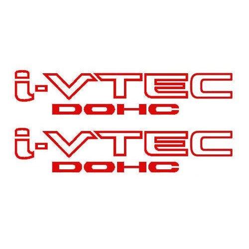 TEC DOHC Vinyl Decal Stickers Emblem Honda Acura ivtec ()
