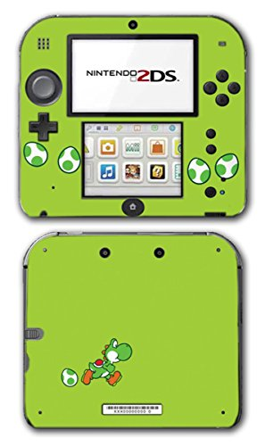 Yoshi Special Egg Green Edition Super Mario Bros New Island DS Woolly World Video Game Vinyl Decal Skin Sticker Cover for Nintendo 2DS System Console (Nintendo Ds Yoshis Island)