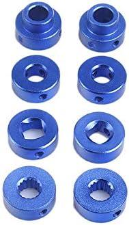 Iycorish 2Pcs Aluminum Alloy Universal Car Window Handle Winder Riser Replacement Winder Crank Riser Kit Universal Blue