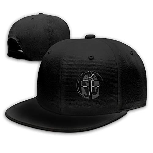 Gangsta Wrapper Denim Dad Cap Baseball Hat Adjustable Sun Cap Hip Pop ()